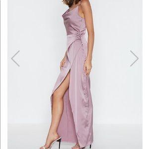 Nasty Gal wedding dress